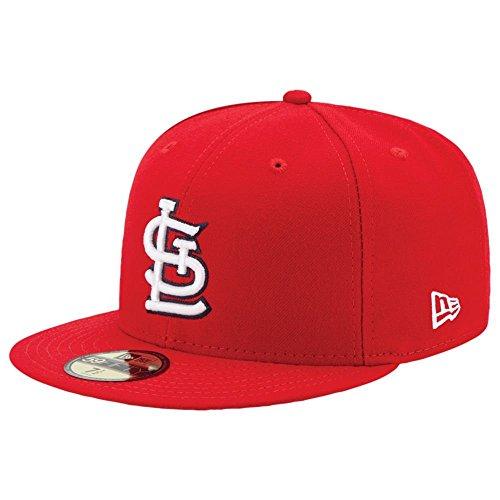 New Era Cap Co,. Inc. Men's 70360957, Red, 7.625 - New Era Fur Cap