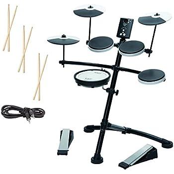 roland td1kv v drum compact electronic drum kit silent kick mesh snare drum head. Black Bedroom Furniture Sets. Home Design Ideas