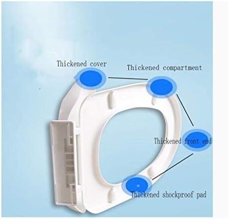 Djyyh 便座の色V/Uは、バッファパッドクイックリリース超耐熱トップマウントトイレカバー、グリーン、41から43.5 * 34.5CMでトイレの蓋形状