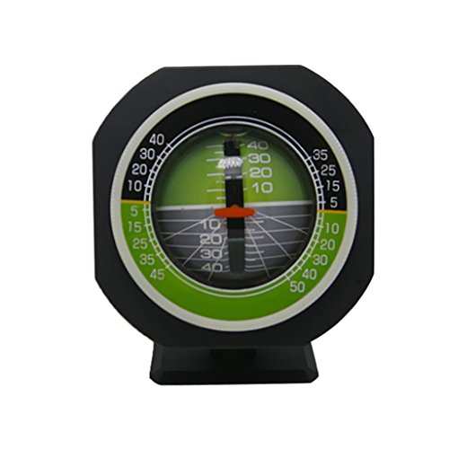 MonkeyJack Multifunction Car Boat Declinometer Gradienter Dashboard Mount Compass (Dash Compass Mount)