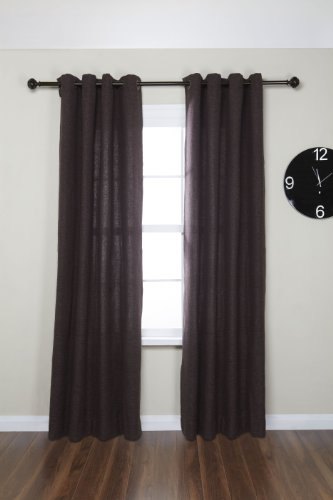 Umbra Celeste 1 Inch Drapery Rod For Window 120 To 170 Inch Polished Bronze Ebay