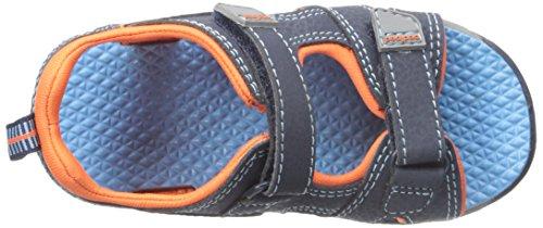 pediped Navigator amp; Orange Jungen Navy Sandalen Blau Outdoor Sport rwTrqx46