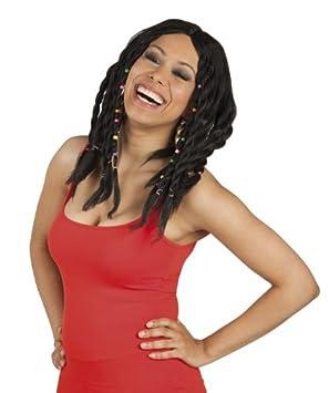 Drea dlock peluca para mujer reggea Jamaica Rasta pelucas Fiesta temática