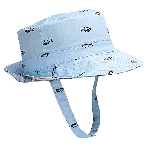 - Hisharry Baby Toddler Kids Boy Girl Bucket Reversible Sun Protection Animal Hat 21.2
