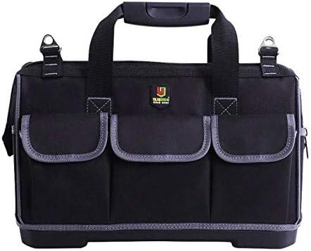 ツールバッグ 工具バッグ 工具箱 工具差し入れ 手提げ 強化底 工具収納 仕分け管理 (幅39.5×奥21×高28cm)