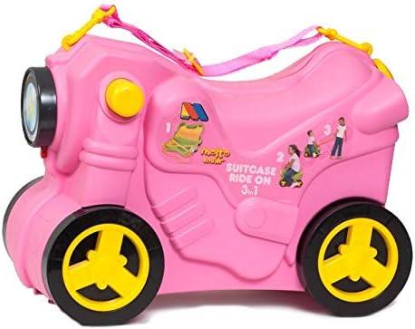 Maleta Infantil Molto Smiler Moto Maleta Rosa