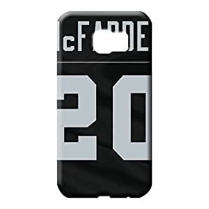 samsung galaxy s6 Appearance Compatible pattern phone carrying covers oakland raiders nfl football