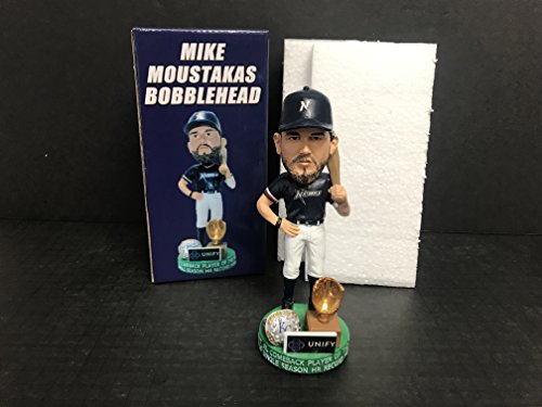 Mike Moustakas 2018 Naturals Hall of Famer current Milwaukee Brewers Player Bobblehead SGA