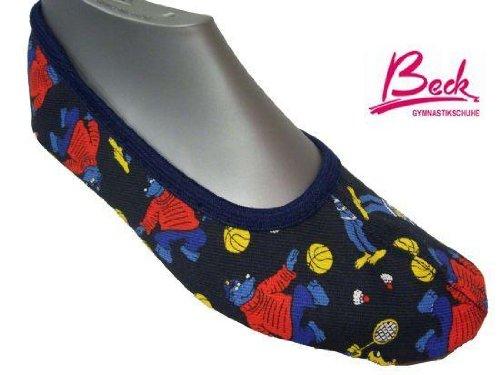 Beck zapatos de gimnasia, zapatillas de deporte no 143 kaptn blaubär