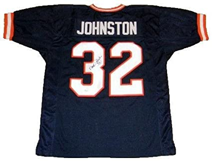 4af4f286c Autographed Daryl Johnston Jersey - Moose Syracuse Orange #32 Throwback - JSA  Certified - Autographed