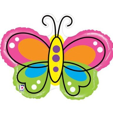 - Large Butterfly Balloon - Mighty Beautiful Butterfly Shape 28