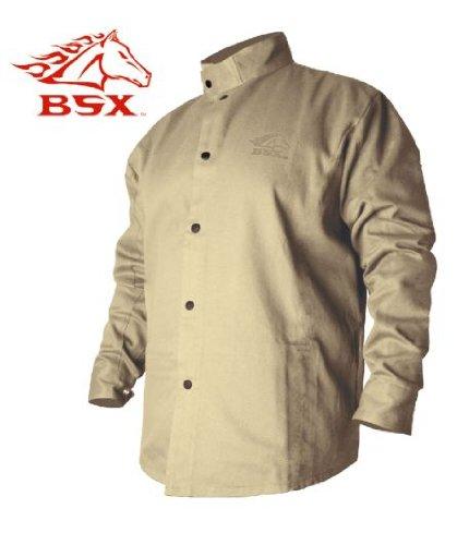 StrykerTM Flame Resistant Welding Jacket - Khaki