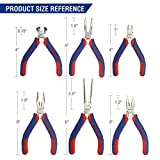 WORKPRO 6-piece Mini Pliers Set - Needle
