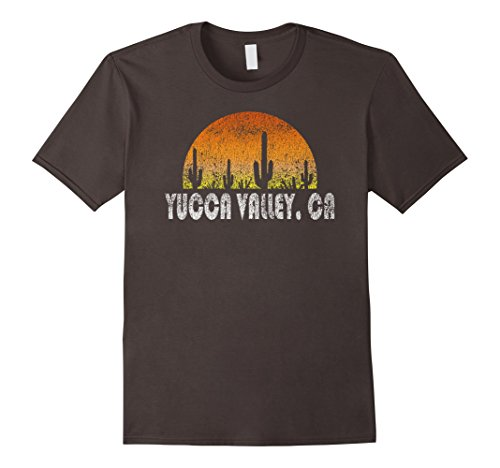 Mens Retro Yucca Valley California Desert Sunset Vintage T-Shirt XL - Valley Fashion Ca