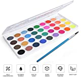 AROIC Watercolor Paint Set, with a Watercolor