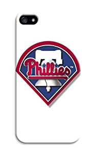 DIY Finest MLB Philadelphia Phillies Hard Case Cover Fit For iPhone 5/5S