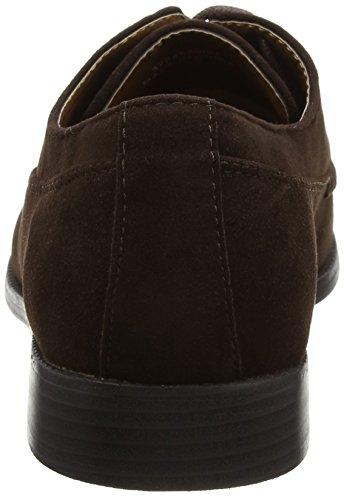 New Look Frankie, zapatos  Hombre Marrón (Dark Brown)