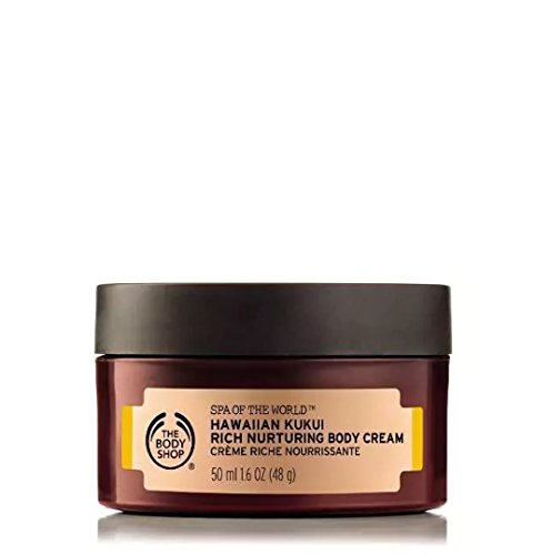 The Body Shop Body Cream, Spa of The World Hawaiian Kukui, 1