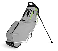 Top-rated performance focused lightweight golf bag with extreme attention to mobility and comfort so you won't ever want to take it off your back. Lightweight yet ultra-durable 200D polyester ripstop fabric. This fabric has exceptional abrasi...