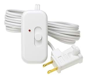 Lutron TT-300NLH-WH Credenza Lamp Dimmer White