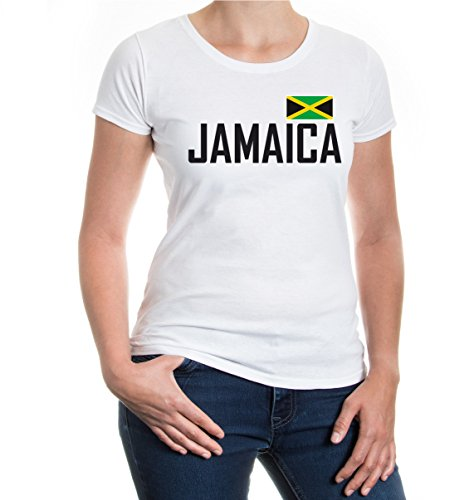 Girlie T-Shirt Jamaica White