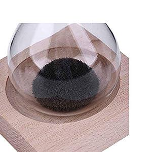 Fangfeen Reloj de Arena Mano-soplado Imán Base de Madera artesanía de Reloj de Arena para el Regalo de Escritorio decoración del hogar 5