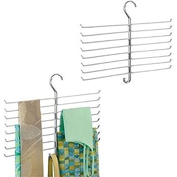 Amazon.com: iDesign Classico Spine Scarf Closet Organizer ...