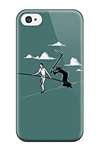 High Impact Dirt/shock Proof Case Cover For Iphone 4/4s (grim Reaper)