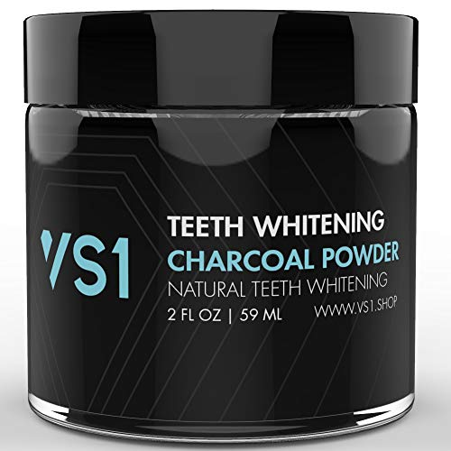 Activated Charcoal Teeth Whitening Powder - Fresh Flavor Natural Ultra Fine Teeth Whitener, Remove Tooth Stains and Freshen Breath for Sensitive Gum