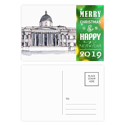 National Gallery Postcards - National Gallery in London 2019 New Year Postcard Thanks Card 20pcs