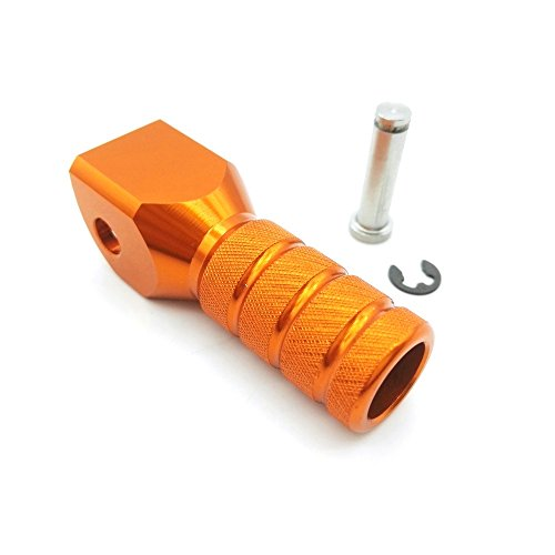 Heinmo Motorcycle Shifter Shift Lever Toe Peg Tip Replacement for KTM EXC EXC-F(Orange)