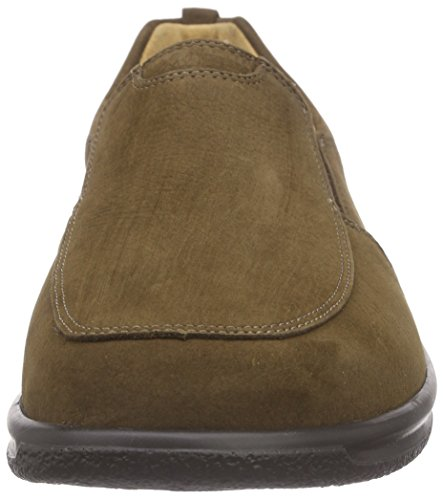 Ganter SENSITIV KURT, Weite K - Mocasines Hombre Marrón - Braun (mocca 2900)