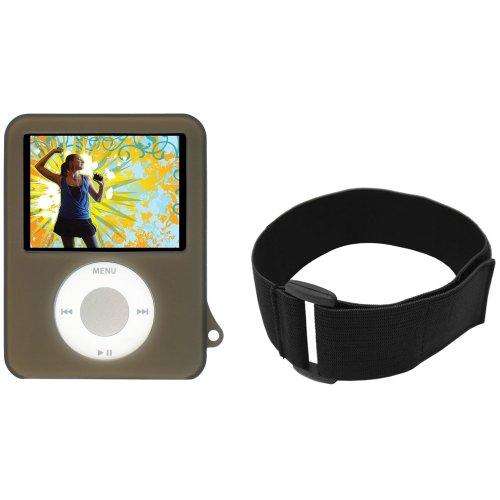 CTA Digital Skin Case for iPod nano 3G (Black)