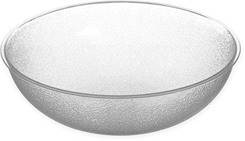 [Carlisle 721507 Salad Bowls, Set of 4 (11-Quart, Polycarbonate, Clear, NSF)] (Polycarbonate Salad Bowl)