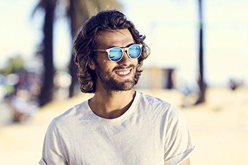 Ventage Hombre Cheapass Ca Cafes 003 Gafas Sol Mujer de Madera pwZ7qxXw