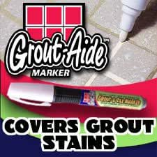 Grout-Aide Grout and Tile Marker (White)-Set of 2