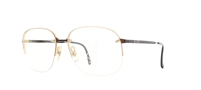 51c26277343a2 Amazon.com  Playboy 4569 10 Gold Authentic Women Vintage Eyeglasses ...