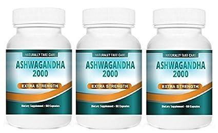 Ashwagandha Extracto Fuerte Cápsulas | Remedio ayurvédico para el estrés, la ansiedad y la fatiga
