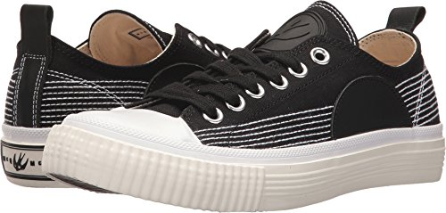 Mcq Womens Plimsoll Low Sneaker Black