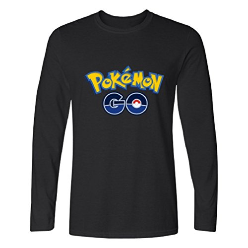 Sportingwear Men's Women's Pokemon Go Logo Long-Sleeve T-Shirt (Sexy Pokemon Costumes)