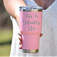 Personalized Yeti Tumbler Additional Colors Available - Engraved Yeti Rambler - 20 oz Yeti - 30 oz Yeti - Personalized Yeti - Yeti Gift - Laser Engraved Yeti - Yeti Tumbler - Yeti Cup …