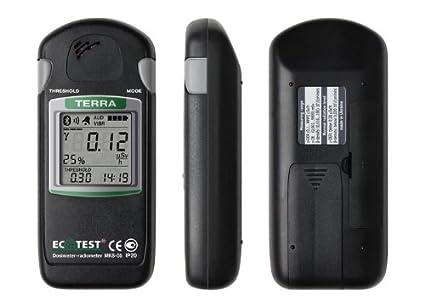 MKS-05 dosímetros radio M de contador Geiger con Terra Bluetooth Chanel from ECOTEST
