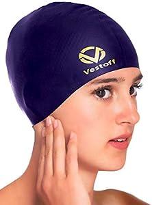 Sweepstakes: Vestoff Premium Solid Silicone Swim Cap…