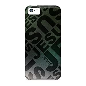 LJF phone case Premium Jesus Heavy-duty Protection Case For Iphone 5c