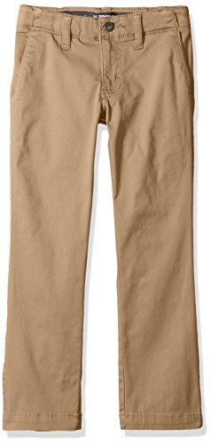 LEE Big Boys' Sport X-Treme Comfort Slim Chino Pant, Original Khaki, 14 Regular