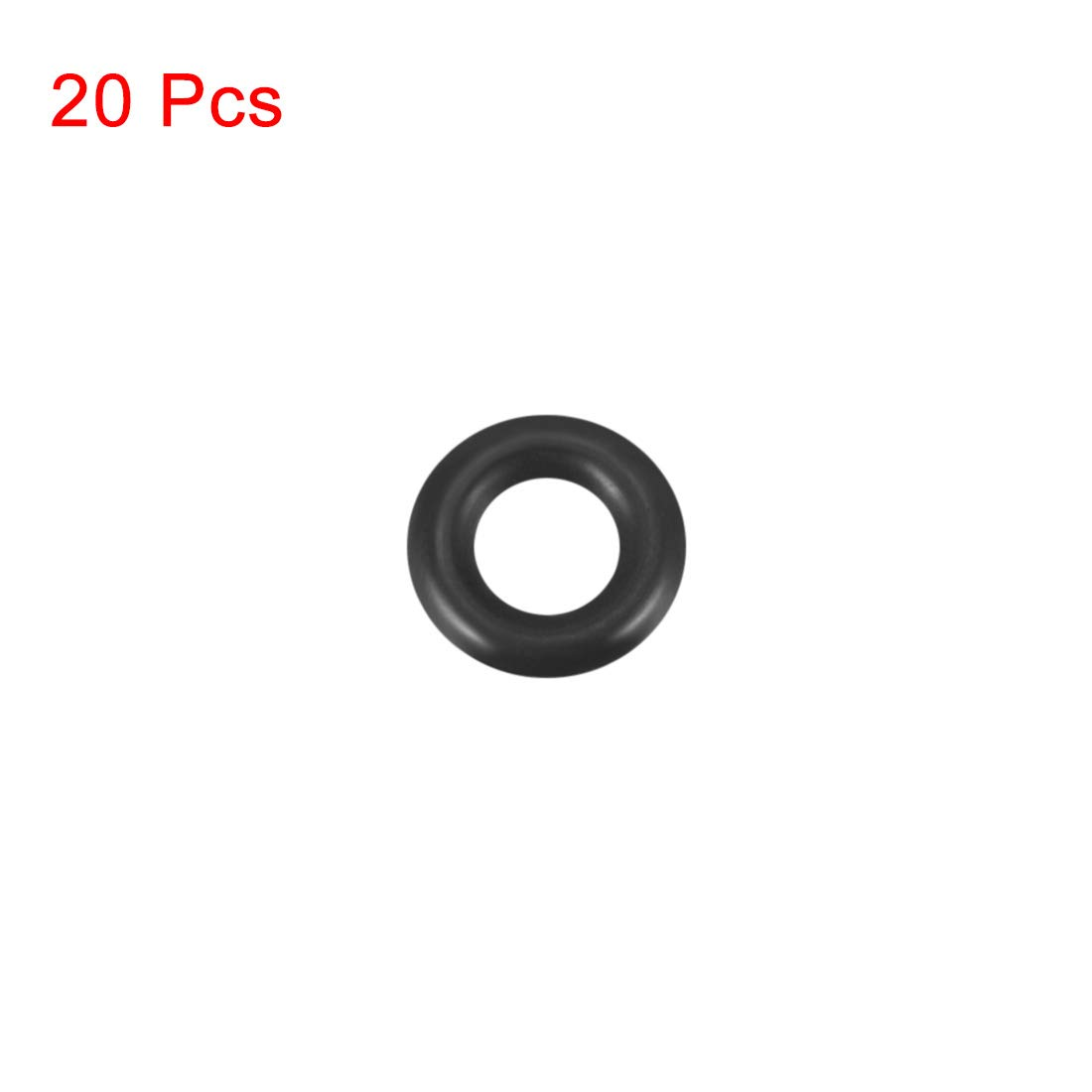 Round Seal Gasket 13mm OD Pack of 12 9mm Inner Diameter 2mm Width uxcell O-Rings Nitrile Rubber