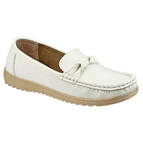 Amblers Paros Ladies Summer Shoe White White Size 40