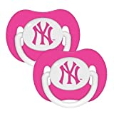 Baby Fanatic Pacifier, New York Yankees, 2-Count