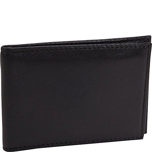 Nappa Vitello Front Pocket I.D. Wallet with Clip