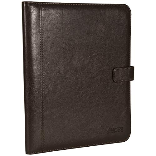 Kenneth Cole Reaction Faux Leather Standard Bifold Writing Pad with Business Organizer, Brown by Kenneth Cole REACTION (Image #5)
